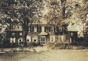 The house in 1900