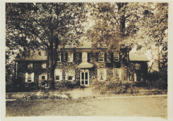 The house in 1900...