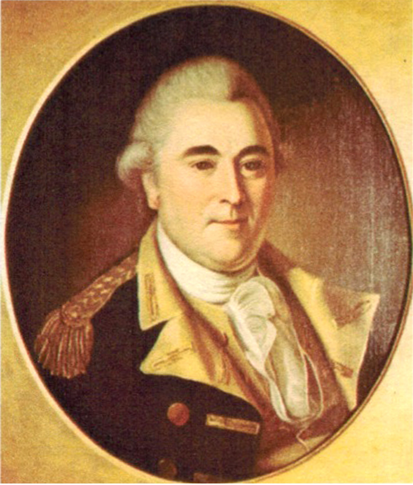 Anthony Wayne By Charles Willson Peale